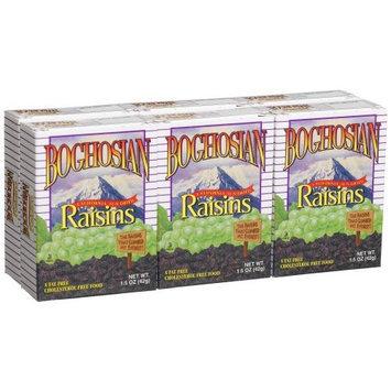 Boghosian Raisins, 6-Count 1.5-Ounce Boxes (Pack of 24)