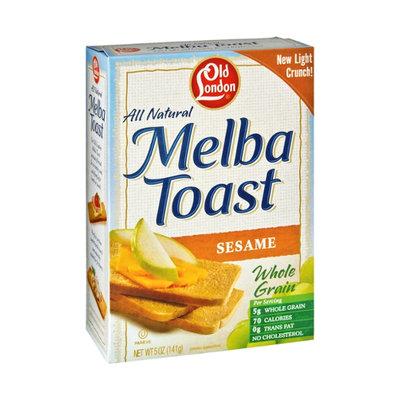 Old London All Natural Sesame Melba Toast