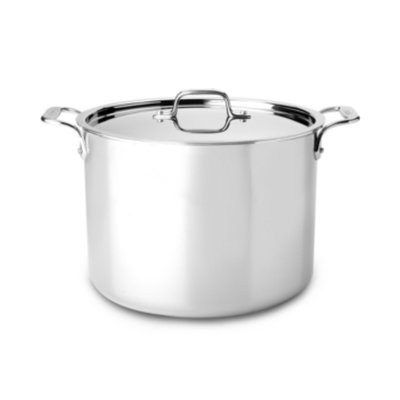 All Clad ALL CLAD 12 Qt. Stockpot with Lid Stainless Steel