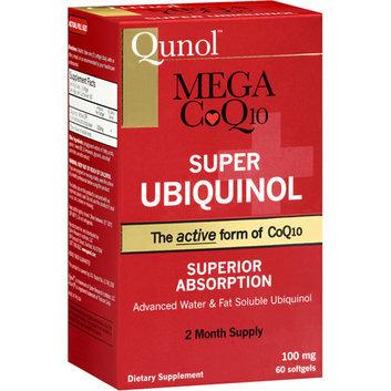 Qunol Mega CoQ10 Super Ubiquinol Dietary Supplement Softgels