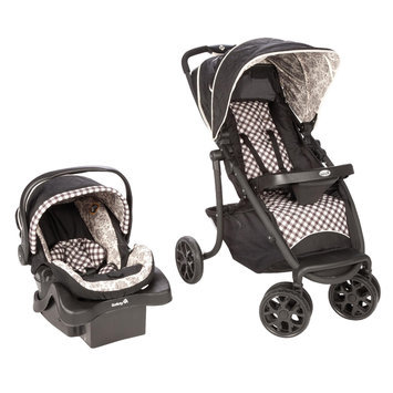Dorel Juvenile Safety 1st SleekRide Premier Travel System ABC Toile