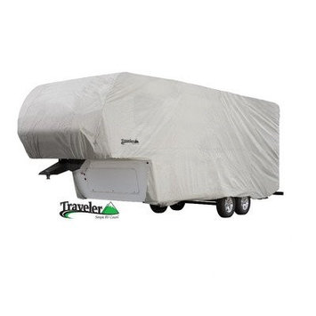 Eevelle TSFW3337 Traveler Series 5th Wheel Cover 33-37 - Grey