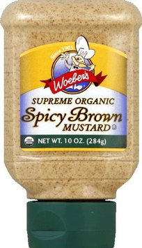 Woeber's Woebers Organic Brown Mustard 10 Oz. -Pack of 6