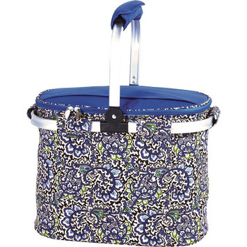 Picnic Plus Shelby Collapsible Market Tote - English Paisley