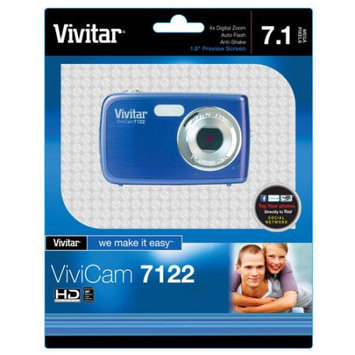 Vivitar V7122 7.1MP Digital Camera (Blue)