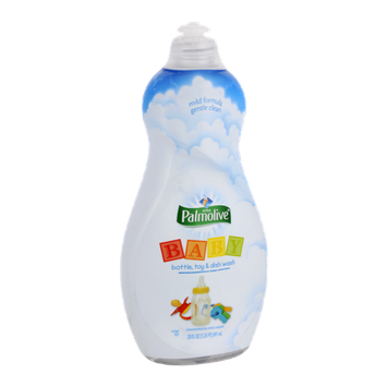 Palmolive Mild Formula Baby Bottle, Toy & Dish Concentrated Dish Liquid