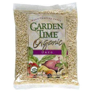 Garden Time Organic Semolina Orzo, 12-Ounce Units (Pack of 12)