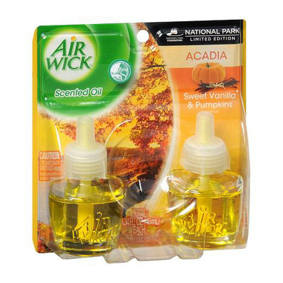 Air Wick Scented Oil Refills Vanilla Pumpkin
