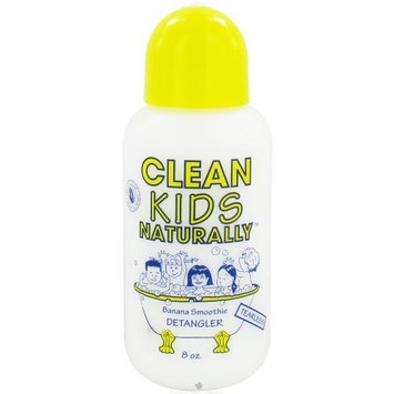 Gabriel Cosmetics Inc. - Clean Kids Naturally Detangler Banana Smoothie - 8 oz.