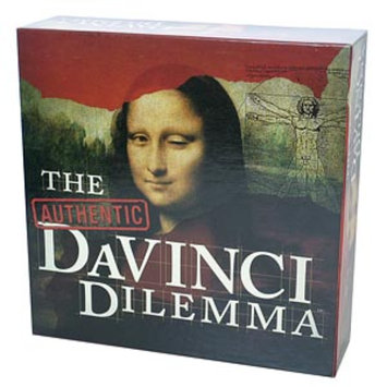 Authentic DaVinci Dilemma Board Game, Ages 14+, 1 ea