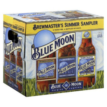 Blue Moon Summer Sampler Beer Bottles 12 oz, 12 pk