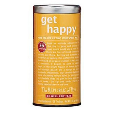 The Republic of Tea, Get Happy Tea, 36-Count