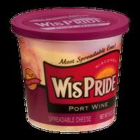 WisPride Port Wine Spreadable Cheese