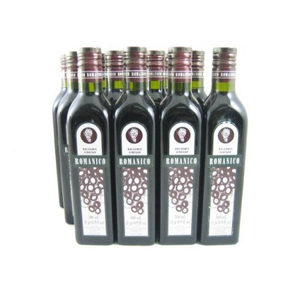 Romanico Balsamic Vinegar (Spain) (Case of 12 - 16.9 Ounce Bottles)