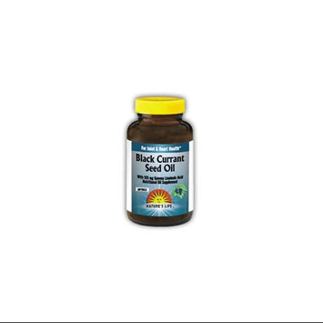 Black Currant Seed Oil 500mg Nature's Life 60 Softgel