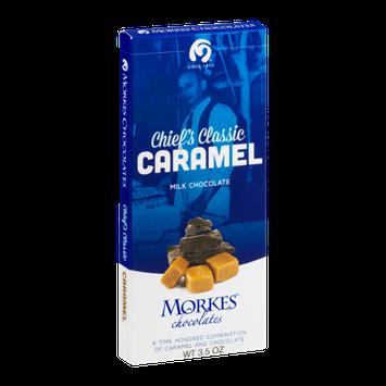 Morkes Chocolates Milk Chocolate Bar Chief's Classic Caramel