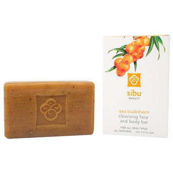 Sibu Beauty Cleanse & Detox Sea Buckthorn Facial Soap