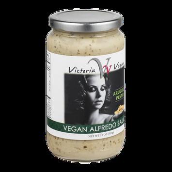Victoria Vegan Alfredo Sauce Arugula Pesto