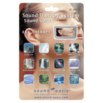 Sound Oasis Ear Therapy Sound Card for the Sound Therapy System S-650
