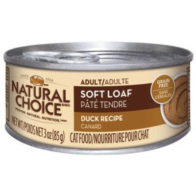 Nutro Natural Choice NUTROA NATURAL CHOICEA Soft Loaf Adult Cat Food