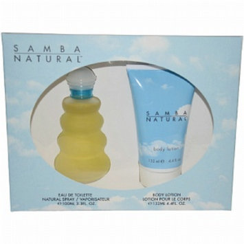 Samba Natural Gift Set for Women, 1 set