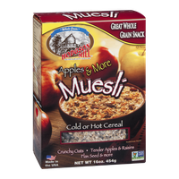 Hodgson Mill Apples & More Muesli Cold or Hot Cereal