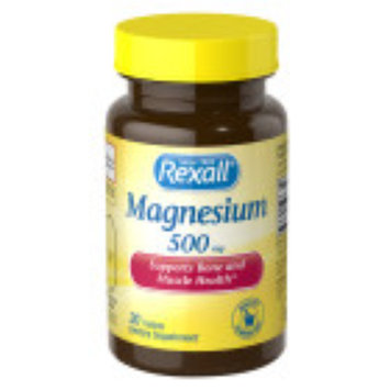 Rexall Magnesium 500 mg - Tablets, 30 ct