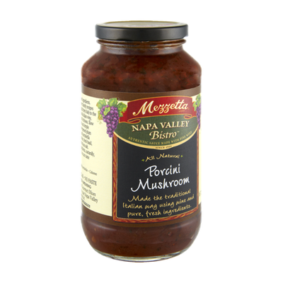 Mezzetta Napa Valley Bistro All Natural Porcini Mushroom Sauce