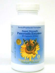 Super Strength Pancreatic Enzyme 90 caps by Verified Quality