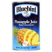 Bluebird Pineapple Juice, 46-Ounce Cans (Pack of 12)