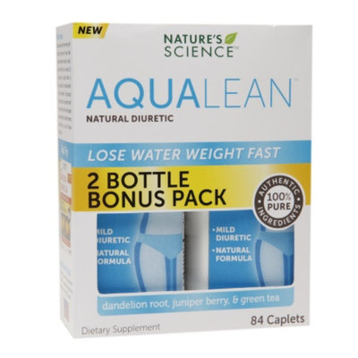 Nature's Science AquaLean Natural Diuretic, Caplets