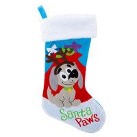Grreat ChoiceA Pet HolidayTM Santa Paws Stocking