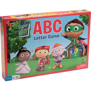 UNIVERSITY GAMES Super WHY ABC Letter Game