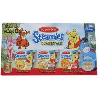 Beech-Nut Beech Nut Steamies Homestyle 4 Twin Packs Variety Pack