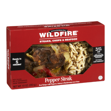 Wildfire Pepper Steak