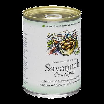 Variety Pet Foods Savannah Crockpot Fine Food for Dogs