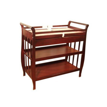 AFG Baby Furniture 3353C Nadia Changing Table - Cherry