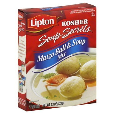 Lipton Matzo Ball Soup Mix, 4.3-ounces (Pack of 6)
