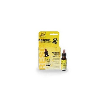 Bach Rescue Remedy, Natural Stress Relief For Pets 10ml (2 Pack)