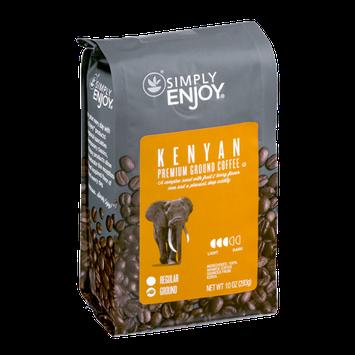 Simply Enjoy Premium Ground Coffee Kenyan
