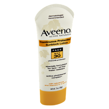 Aveeno Face SPF 30 Sunblock Lotion