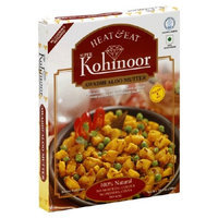 Kohinoor Heat & Eat Curries, Awadhi Aloo Mutter, 10.5-Ounce Boxes (Pack of 10)