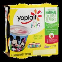 Yoplait Kids Low Fat Yogurt Mickey Mouse Clubhouse Strawberry Banana