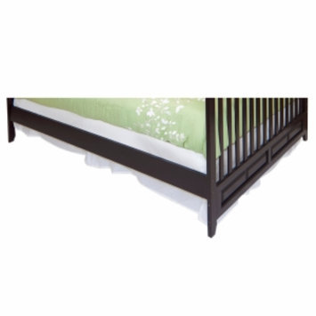 Child Craft Full Size Bed Rails for Logan Lifetime Convertible Crib, Jamocha, 1 ea
