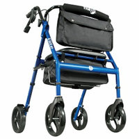 Hugo Adjustable Rollator with Seat