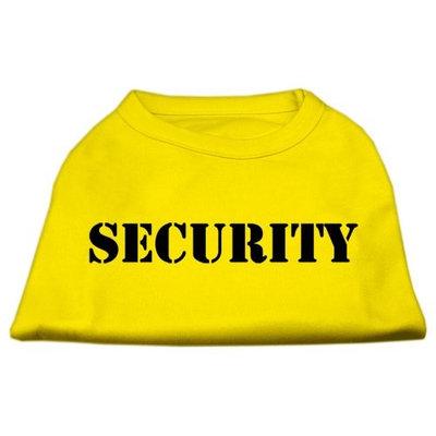 Ahi Security Screen Print Shirts Yellow XXXL (20)