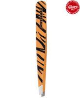 Tweezerman Stainless Slant Tweezer Tiger Print