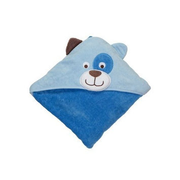 Carter's Puppy Hooded Towel - Blue-One Size