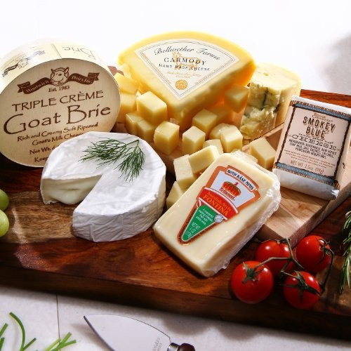 Alder Creek Gifts White Wine Cheese Pairing