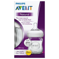 Avent SCF671/17 Natural 4 Ounce Glass Bottle